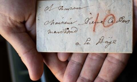 Διαβάστηκε σφραγισμένο γράμμα τριών αιώνων χάρη σε ψηφιακό «ξεδίπλωμα»