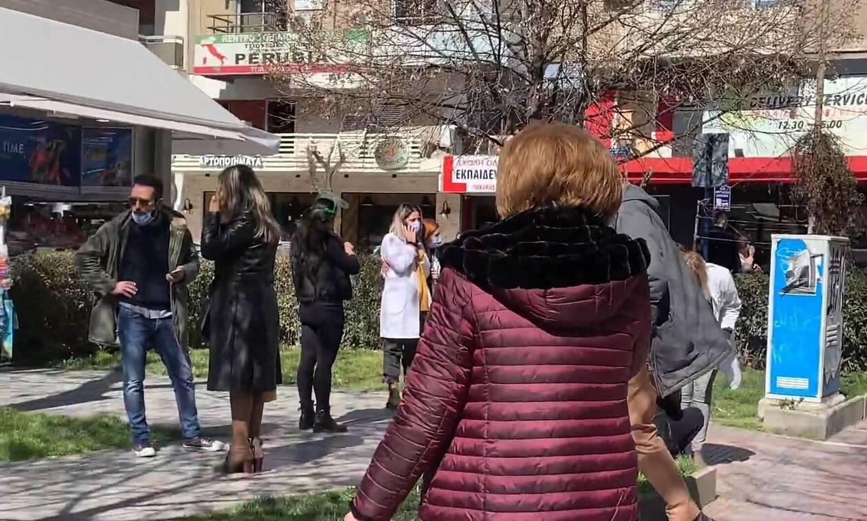 Σεισμός Ελασσόνα: Πετάχτηκαν από τα σπίτια τους οι κάτοικοι - Συγκλονιστικό βίντεο