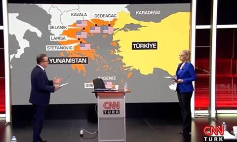 CNN Turk: «Σε μια νύχτα όλα τα νησιά του Αιγαίου θα περάσουν στην πλευρά της Τουρκίας»