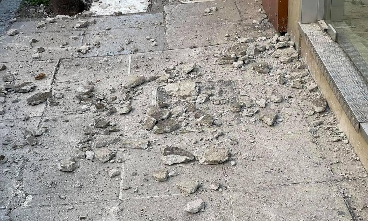 Σεισμός Ελασσόνα: Εγκλωβισμένος άνδρας στο Μεσοχώρι