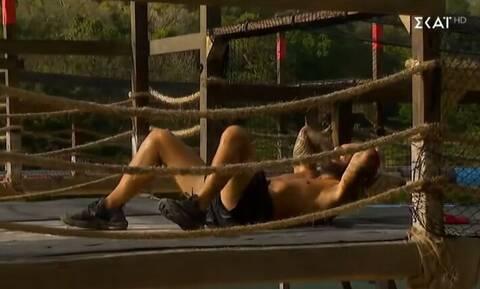 Survivor Spoiler 3/3: Άσχημος τραυματισμός για τον Τριαντάφυλλο (video)