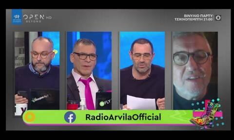 Ράδιο Αρβύλα: Με κορονοϊό ο Στάθης Παναγιωτόπουλος - Αυτά είναι τα νέα για την υγεία του