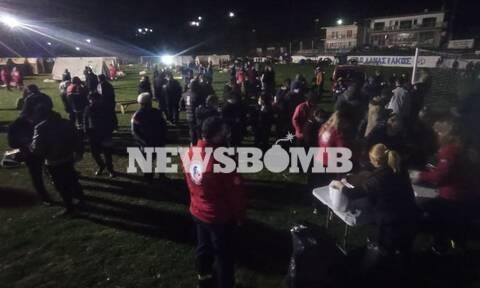 Ρεπορτάζ Newsbomb.gr - Σεισμός Ελασσόνα: Στην πρώτη γραμμή ο Ερυθρός Σταυρός