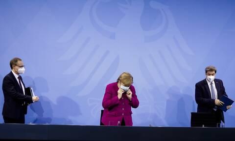 Κορονοϊός στη Γερμανία: Παράταση του lockdown ως την 28η Μαρτίου ανακοίνωσε η Μέρκελ