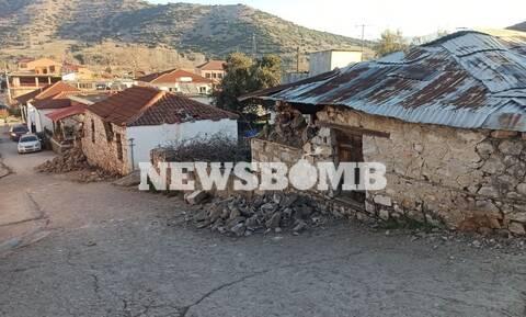 Σεισμός Ελασσόνα - Ρεπορτάζ Newsbomb.gr: Η επόμενη μέρα από τον ισχυρό σεισμό των 6 Ρίχτερ