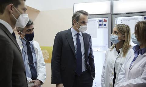 Μήνυμα Μητσοτάκη: Είμαστε από τις καλύτερες χώρες στην Ευρώπη ως προς την ταχύτητα εμβολιασμού