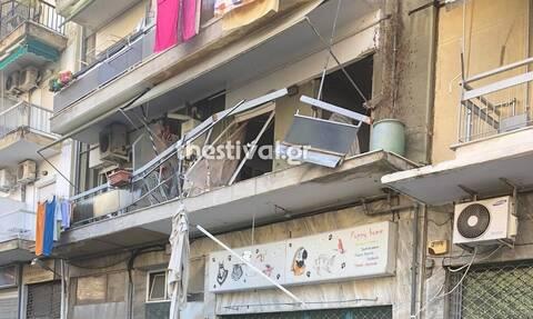 Έκρηξη σε διαμέρισμα στη Θεσσαλονίκη - Από θαύμα δεν τραυματίστηκε ηλικιωμένος