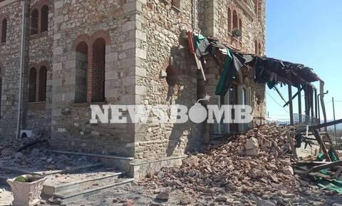 В Греции ведутся работы по устранению последствий землетрясения в Элассоне