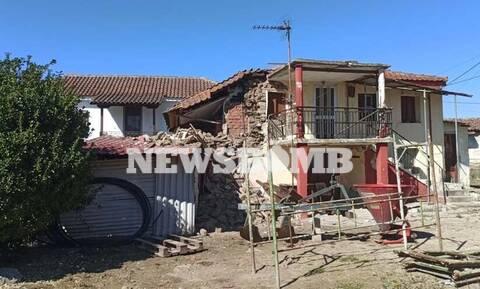 Σεισμός - Οδοιπορικό του Newsbomb.gr στην Ελασσόνα: Αγωνία στα ερείπια – «Η βοή μας έσωσε»