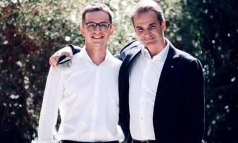 Ο γιος του Κυριάκου Μητσοτάκη ευχήθηκε στον πατέρα του: «Χρόνια πολλά Iron Man»