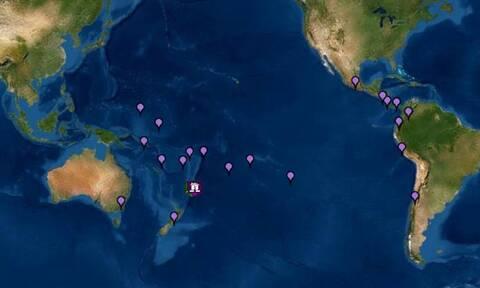 Σεισμός στη Νέα Ζηλανδία: Προειδοποίηση για τσουνάμι σε όλον τον Ειρηνικό