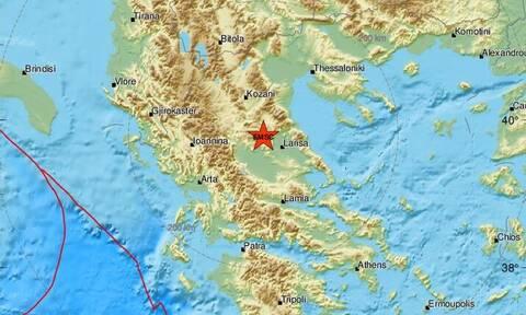 Σεισμός ΤΩΡΑ στην Ελασσόνα - Νέα σεισμική δόνηση επίκεντρο κοντά στον Τύρναβο (pics)