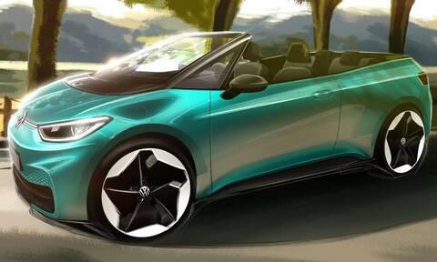 Ένα ηλεκτρικό και ανοιχτό VW ID.3 θα μπορούσε να είναι κάπως έτσι