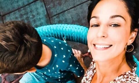 Κατερίνα Παπουτσάκη: Δείτε πώς ευχήθηκε στον γιο της για τα γενέθλιά του