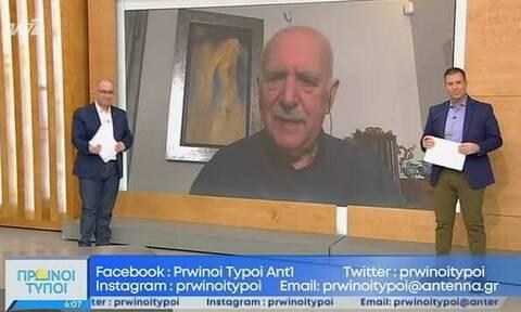 Καλημέρα Ελλάδα: Κρούσμα κορονοϊού στην εκπομπή - Εκτός ο Γιώργος Παπαδάκης