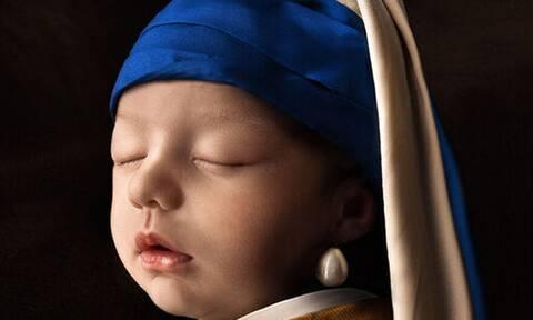 Οι φωτογραφίες αυτής της νεογέννητης μπέμπας είναι ιδιαίτερες - Δείτε τις