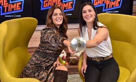 Η Πρωταθλήτρια της ξιφασκίας Δέσποινα Γεωργιάδου παίζει μπάλα στο ΟΠΑΠ Game Time