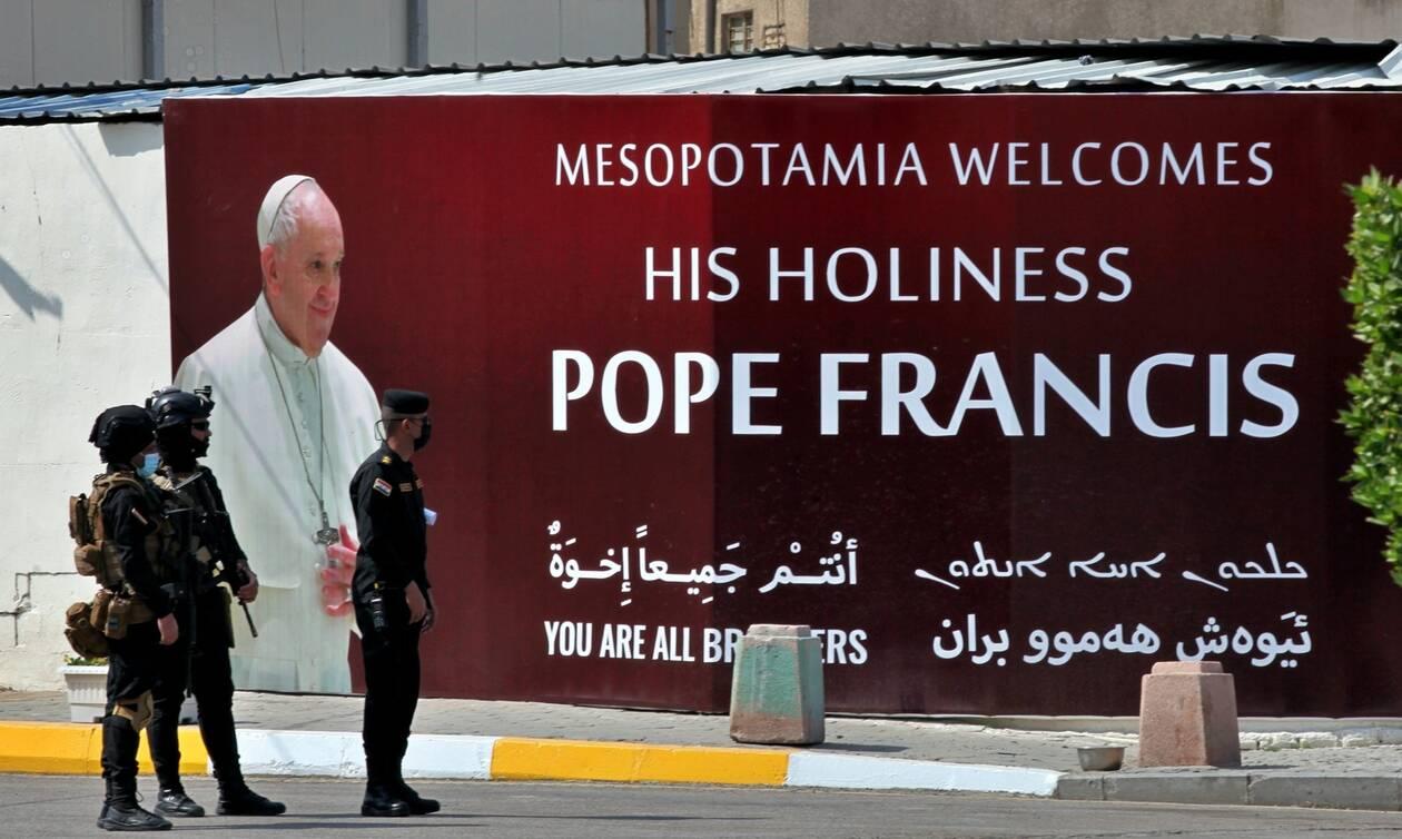 Πάπας Φραγκίσκος: Ιστορική επίσκεψη στο Ιράκ- Το μέλλον των Χριστιανών στη Μέση Ανατολή