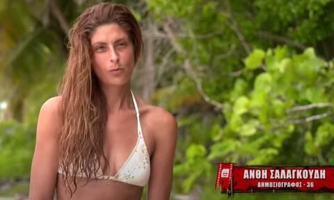 Ανθή Σαλαγκούδη: Επέστρεψε στην Ελλάδα με… κινηματογραφική έξοδο (videos)