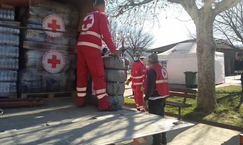 Σεισμός – Ελασσόνα: Άνοιγμα λογαριασμού και τρόφιμα από τον Ερυθρό Σταυρό για τους σεισμοπαθείς
