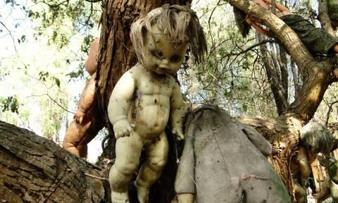 Isla de las Muñecas: Το «στοιχειωμένο» νησί με τις κρεμασμένες κούκλες (pics+vids)