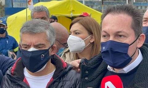 300,000 euros to earthquake-stricken municipalities announced by Alt. Interion Min. Petsas
