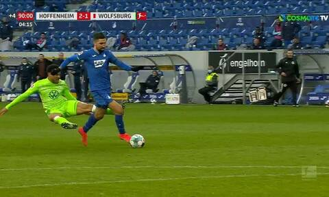 Bundesliga: Εγκληματικό τάκλιν! Πήγε να τον... κόψει στα δύο (video)