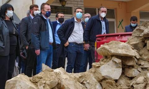 Σεισμός Ελασσόνα: Το βίντεο που πόσταρε ο Αλέξης Τσίπρας από το Δαμάσι