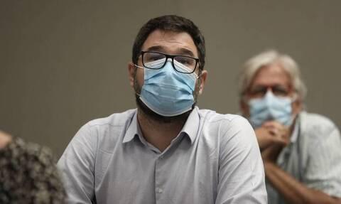 Ηλιόπουλος: Κυβερνητική παραδοχή αποτυχίας το νέο lockdown