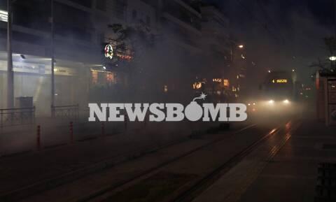 Σοβαρά επεισόδια στη Νέα Σμύρνη - Πετροπόλεμος και χημικά (pics+vid)