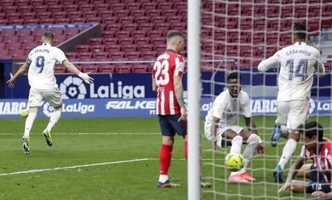LaLiga: Ο Μπενζεμά «έσωσε» τη Ρεάλ στο ντέρμπι – Όλα τα γκολ στην Ισπανία (videos)