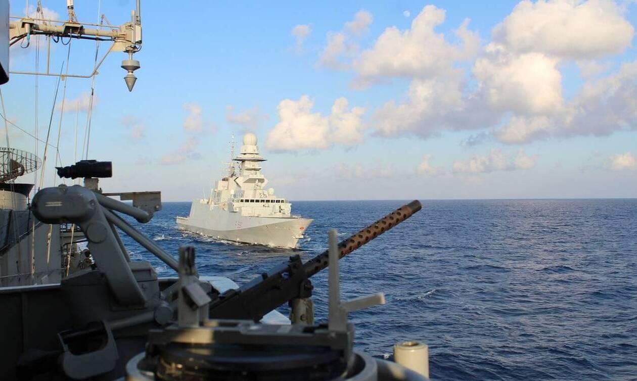 ΓΕΕΘΑ - Πολεμικό Ναυτικό: Επίδειξη σημαίας από Μαύρη Θάλασσα μέχρι Περσικό Κόλπο και Αδριατική