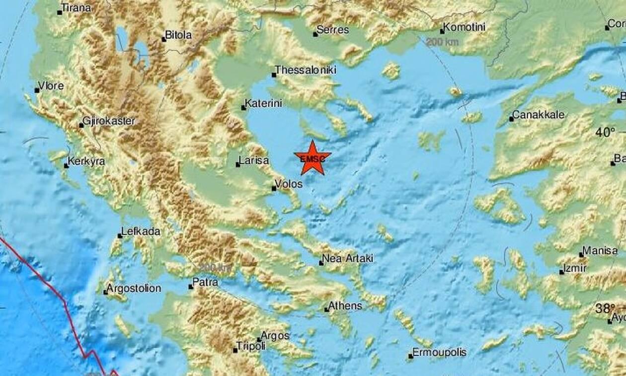 Σεισμός ΤΩΡΑ νότια της Κασσάνδρας (pics)