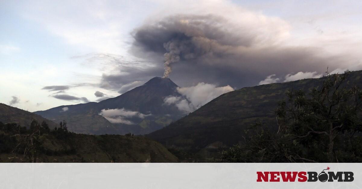 facebookecuador volcano