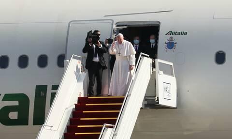 Πάπας Φραγκίσκος: Ολοκλήρωσε την ιστορική του επίσκεψη στο Ιράκ