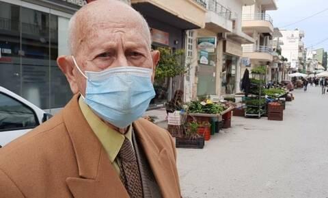 Λεβέντης Κρητικός 90 ετών βάζει κάτω όλους τους 35άρηδες (vid)