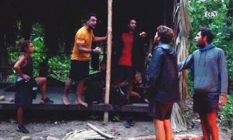 Survivor: Άγριο κράξιμο σε Σάκη - Τρομερή επίθεση από την πλευρά του Τζέιμς (pics+vid)