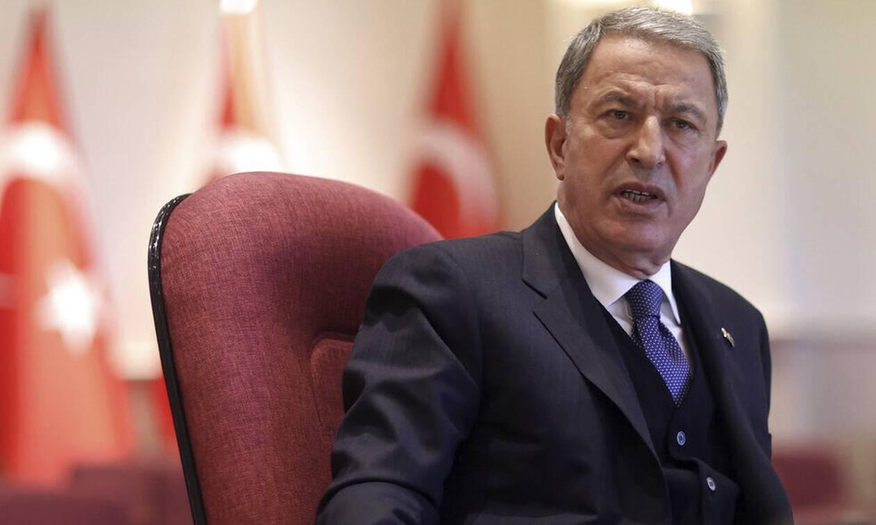 Παραλήρημα από το τουρκικό υπουργείο Αμυνας: Η Ελλάδα έστειλε επιθετικά πλοία στο Καστελόριζο