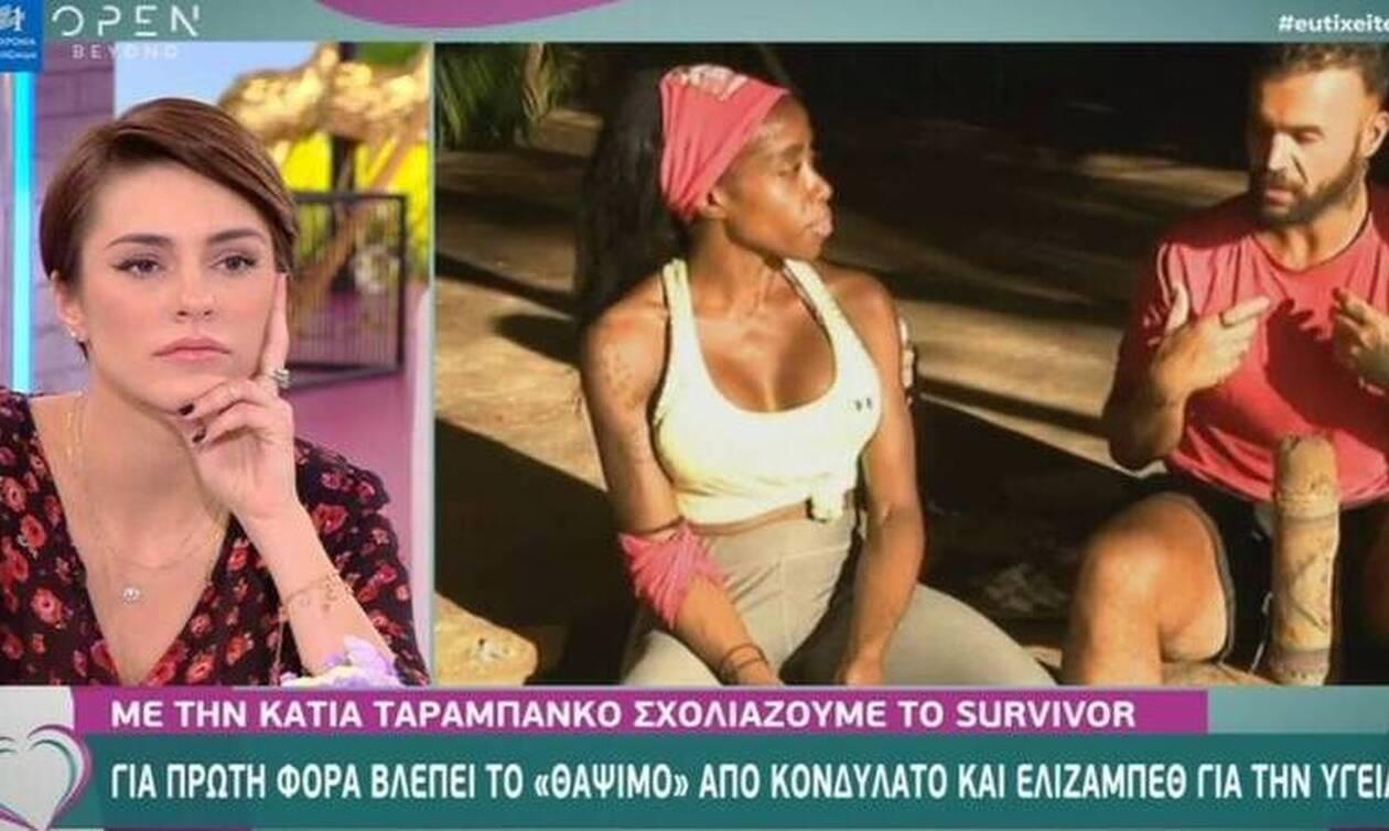 Survivor: Η Ταραμπάνκο έστειλε... συλλυπητήρια στην Ελέτσι και έγινε χαμός στο twitter
