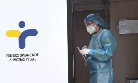 Κρούσματα σήμερα: 1.165 νέα ανακοίνωσε ο ΕΟΔΥ - 39 θάνατοι σε 24 ώρες, στους 477 οι διασωληνωμένοι