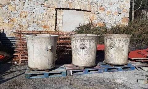 Εντοπίστηκε στο Προεδρικό Μέγαρο το «χαμένο» κασπώ των ανακτορικών κήπων στο Τατόι (pics)
