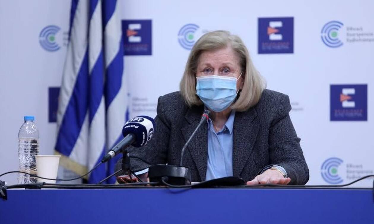 Θεοδωρίδου: Για αυτό δόθηκε το «ΟΚ» για εμβολιασμό των 65 και άνω με το εμβόλιο της AstraZeneca