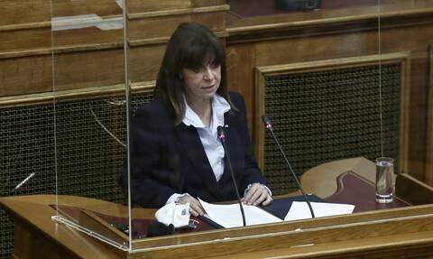 Σακελλαροπούλου: Ας εργαστούμε, για να προσφέρουμε στα σημερινά κορίτσια τη θέση που τους αξίζει