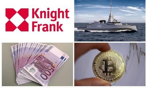 Το ιδιωτικό νησί της Knight Frank, οι γαλλικές φρεγάτες και το πλοίο με το χρυσό «Β»