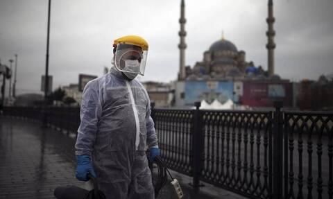 Κορονοϊός - Τουρκία: Πάνω από 13.000 τα νέα κρούσματα - Ο υψηλότερος αριθμός από τις 6 Ιανουαρίου