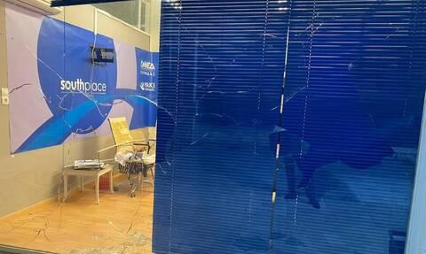 Επίθεση στα γραφεία της ΟΝΝΕΔ στη Γλυφάδα