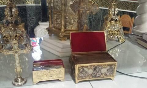 Ιερόσυλοι! Έκλεψαν το λείψανο ανήμερα της γιορτής του ναού (vid)
