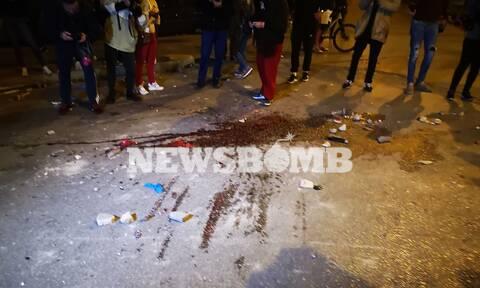 Νέα Σμύρνη: Φωτογραφίες και βίντεο σοκ από τον τραυματία αστυνομικό