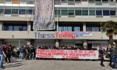 ΑΠΘ: Αναβρασμός στους φοιτητές μετά από πληροφορίες για επιχείρηση εκκένωσης της κατάληψης