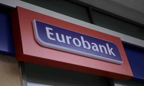 Eurobank: Καθαρά κέρδη 544 εκατ. ευρώ το 2020